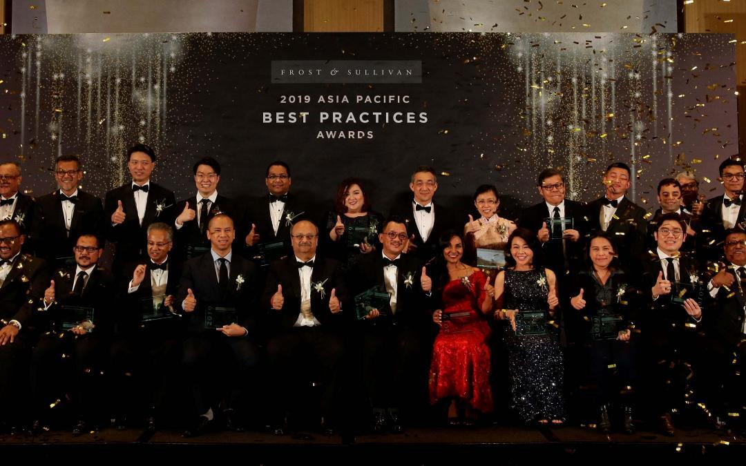 Asia's Best-in-Class Companies Celebrated at the 2019 Frost & Sullivan Asia-Pacific Best Practices Awards