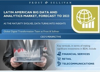 Brasil e Mexico se destacam na adoção de Big Data na América Latina, afirma Frost & Sullivan