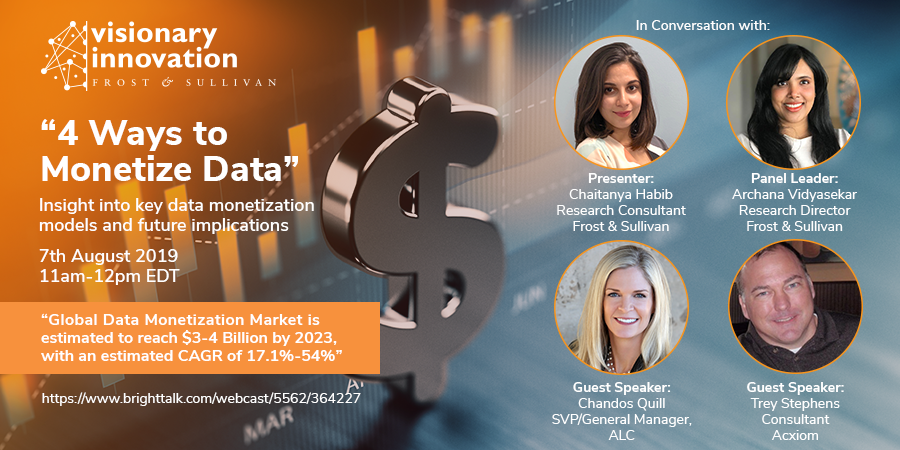 Experts Analyze 4 Strategies to Monetize Your Data and Gain Competitive Edge