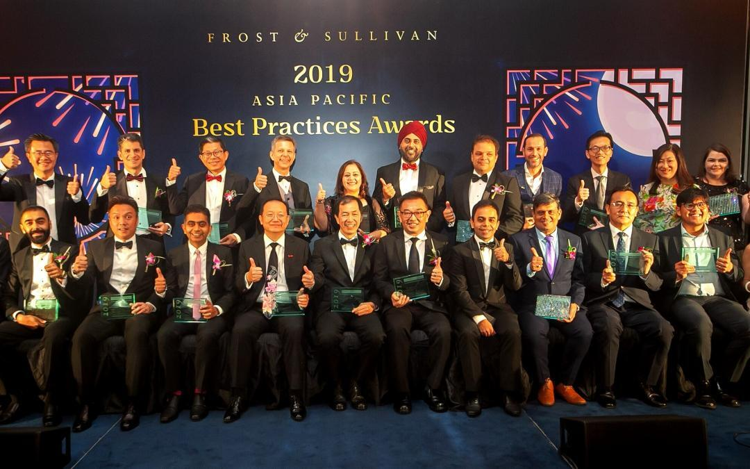Frost & Sullivan's Asia-Pacific Best Practices Awards Honors the Top Companies in the Region