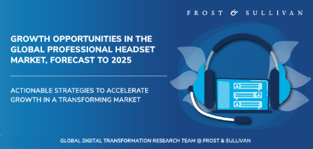 Global Professional Headset Market to Maintain Solid Growth Trajectory Through 2025, Aided By Software Communications