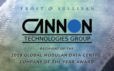 Cannon Technologies Lauded by Frost & Sullivan for its Holistic Approach to Building a Modular Data Center for Large-scale Deployments