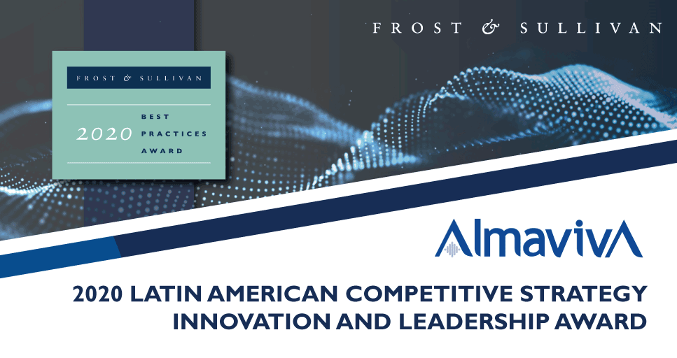 AlmavivA Lauded by Frost & Sullivan for its Strong Focus on Customer Experience in the Latin American Contact Center Market