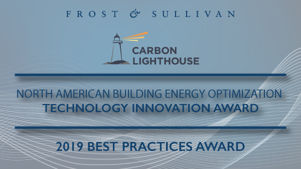 Frost & Sullivan Awards Carbon Lighthouse for its Data-driven Building Energy Efficiency Solution, CLUES®