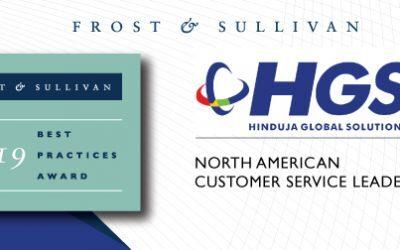 HGS Receives Customer Service Leadership Award for Providing Innovative Social Media Experiences with HGS EPICTM Social Care