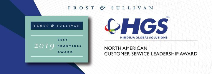 HGS Receives Customer Service Leadership Award for Providing Innovative Social Media Experiences with HGS EPICTM Social Care