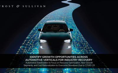 Frost & Sullivan Identifies Growth Opportunities Across Automotive Verticals for Industry Recovery