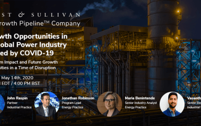 Frost & Sullivan Webinar Explores Six Key Growth Opportunities in the Global Power Industry Sparked by COVID-19