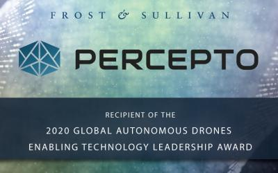 Percepto Mitigates COVID-19 Impact with Autonomous Drone Technology