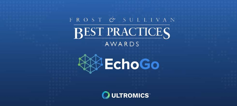 Ultromics Lauded by Frost & Sullivan for Pioneering AI-based Cardiovascular Suite, EchoGo