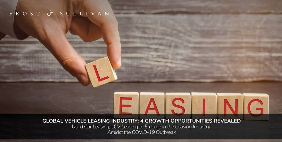 Frost & Sullivan Explores Top Four Growth Opportunities in the Global Vehicle Leasing Industry