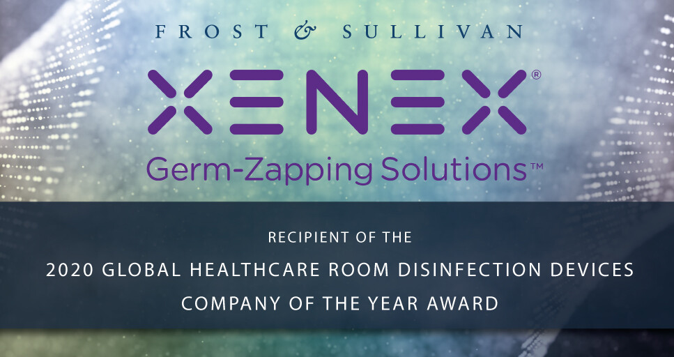 Frost & Sullivan Recognizes Xenex with 2020 Global Company of the Year Award; LightStrike Robots Dominate Healthcare Room Disinfection Devices Market