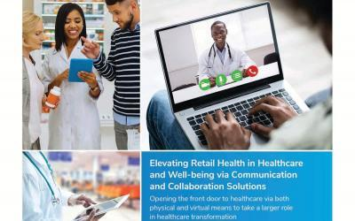 Elevating Retail Health in Healthcare and Well-being via Communication and Collaboration Solutions