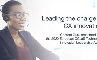 Leading the charge in CX innovation