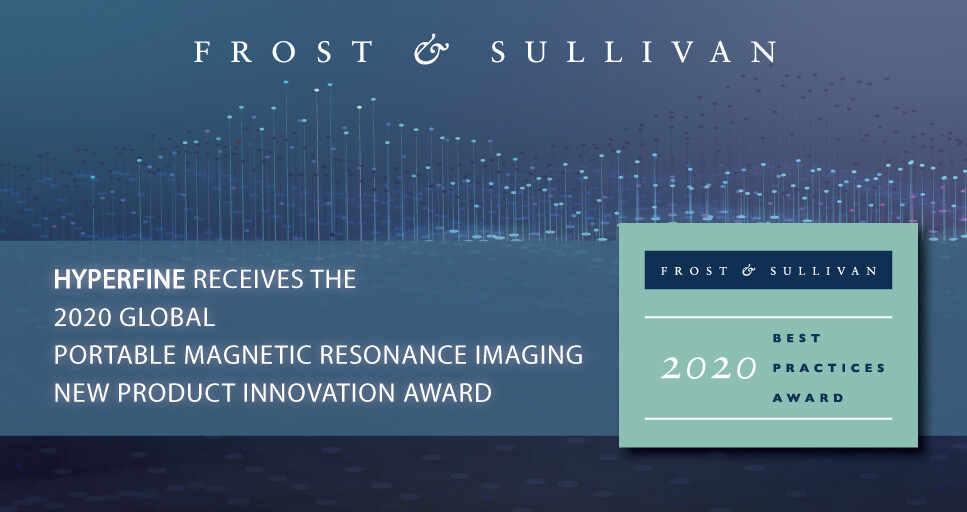Hyperfine Lauded by Frost & Sullivan for Developing the World's Only Portable MRI System for Point of Care