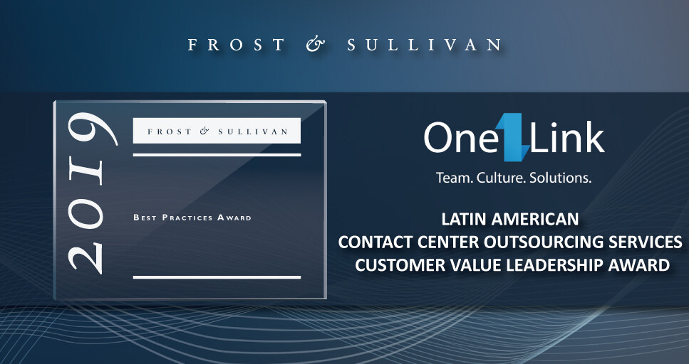 OneLink Earns Acclaim from Frost & Sullivan for Its Customer-focused Approach to Process Automation in Contact Centers
