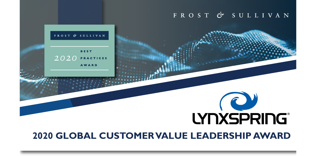 Lynxspring Lauded by Frost & Sullivan for Guiding Clients' Smart Building Solution Strategies in a Post-COVID-19 Environment