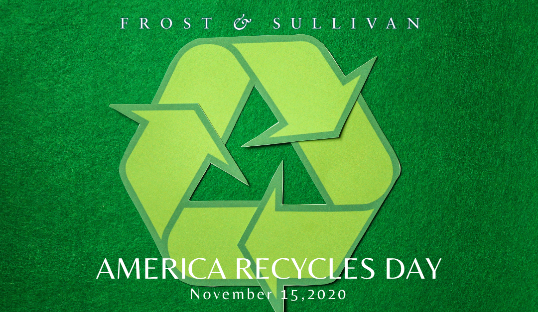 Frost & Sullivan Shares Three Key Areas of Development in Waste Recycling