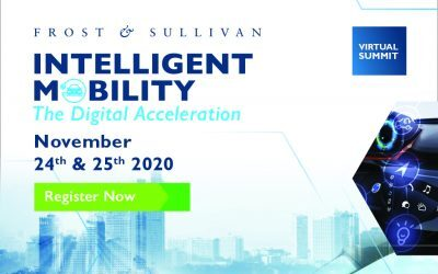 Frost & Sullivan Intelligent Mobility Summit 2020 to Spotlight Industry's Digitally-driven Roadmap for Post-COVID Recovery, Resilience and Resurgence
