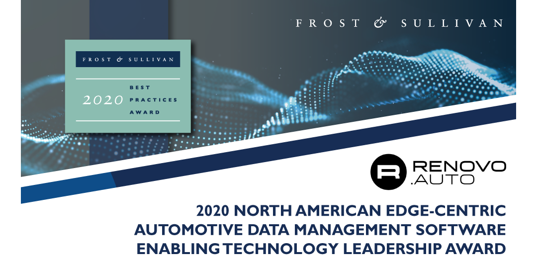 Renovo Lauded by Frost & Sullivan for Edge-centric Automotive Software Platform