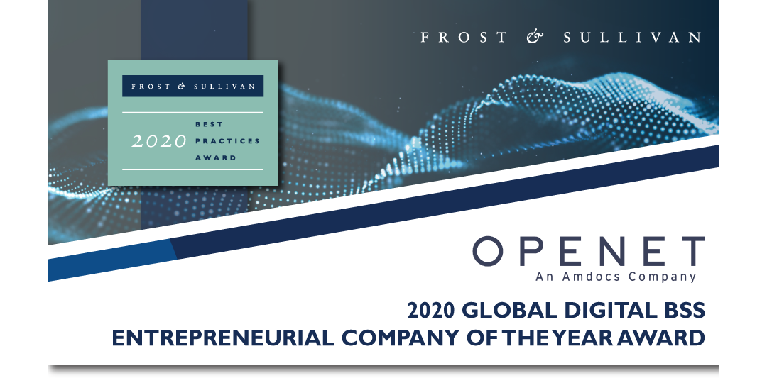 Openet Lauded by Frost & Sullivan for its 5G, Open and Cloud-native BSS for Service Providers