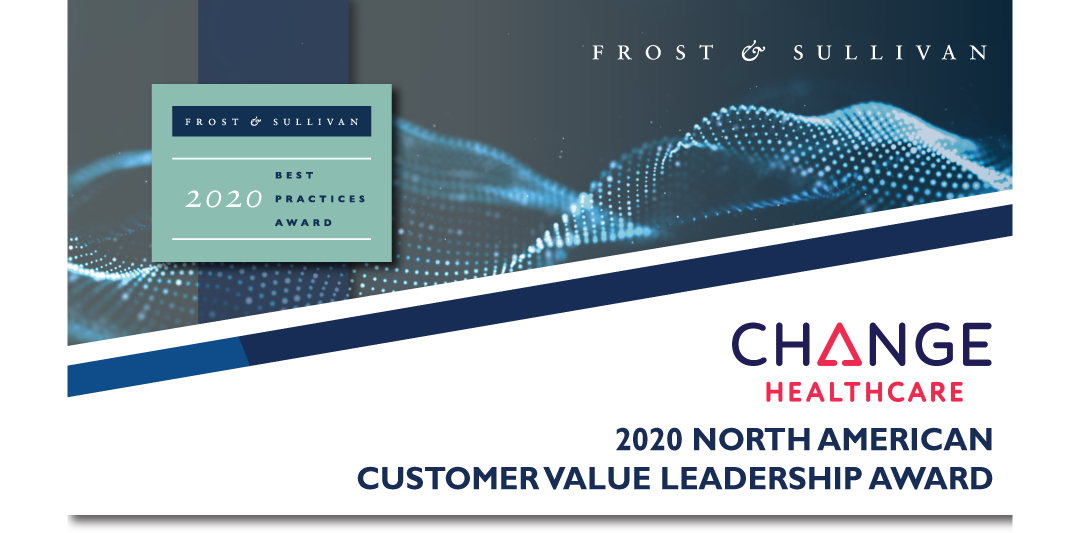 Change Healthcare Acclaimed by Frost & Sullivan for Supporting Value-based Care with Its Enterprise Imaging Network™ Platform