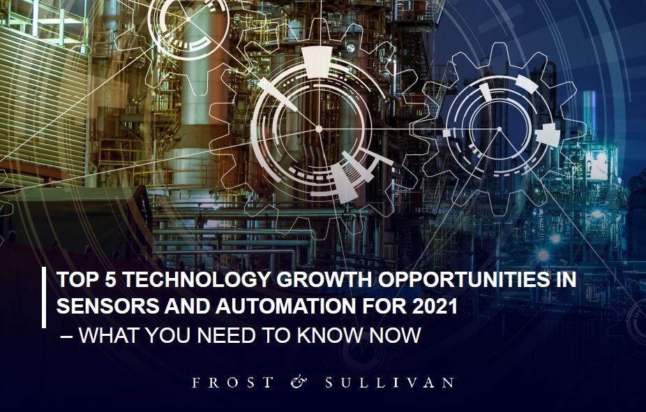 Sensors and automarion trends 2021