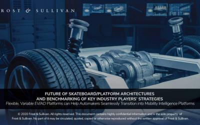 Frost & Sullivan Unfolds the Future of Vehicle Platform Strategies in the Age of CASE
