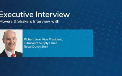 Movers & Shakers Interview with Richard Jory, Vice President, Lubricants Supply Chain, Royal Dutch Shell