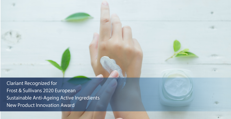 Clariant Lauded by Frost & Sullivan for Addressing the Growing Customer Demand for Natural Anti-aging Active Ingredients with its Product, Prenylium®