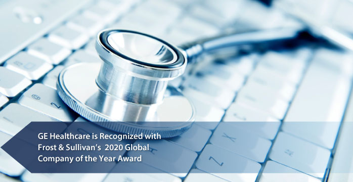 "GE Healthcare Named ""2020 Global Company of the Year"" by Frost & Sullivan for its AI-based Command Centers that Help Hospitals Make Real-time Decisions That Improve Care Delivery"