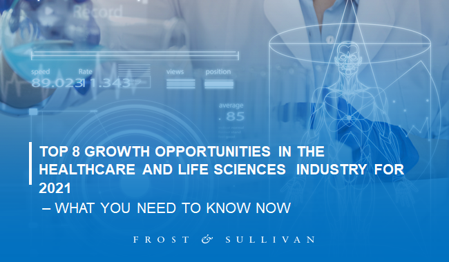 8 Growth Opportunities in the Healthcare and Life Sciences Industry to Watch Out for in 2021