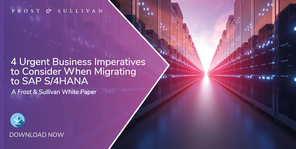 Businesses Migrating Legacy SAP Business Suite to SAP S/4HANA Emerge More Agile, Efficient