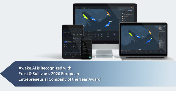 Awake.AI Awarded by Frost & Sullivan for Redefining Maritime Logistics