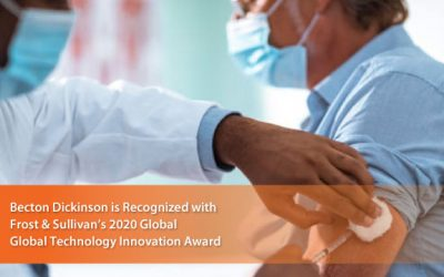 Becton Dickinson Lauded by Frost & Sullivan for Enhancing Patient Experience with Its BD Intevia™ Autoinjector