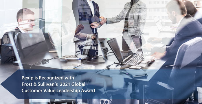 Pexip Commended by Frost & Sullivan for its Secure, Flexible Video Conferencing Platform