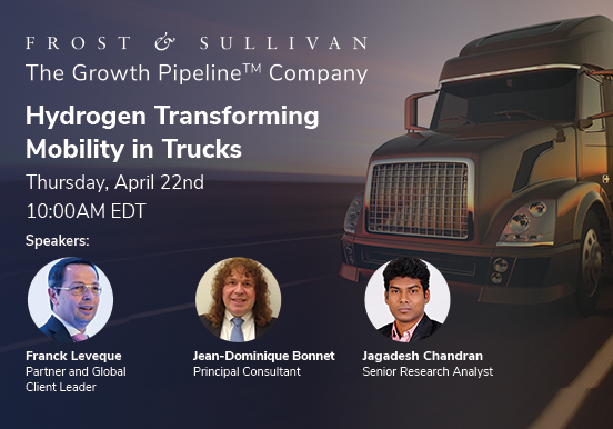 Frost & Sullivan Examines Global Opportunities for Fuel Cell Trucks in Hydrogen Economies