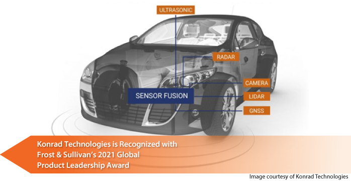 Konrad Technologies Commended by Frost & Sullivan for Its Scalable and Configurable Sensor Fusion Hardware-in-the-loop Test Solutions