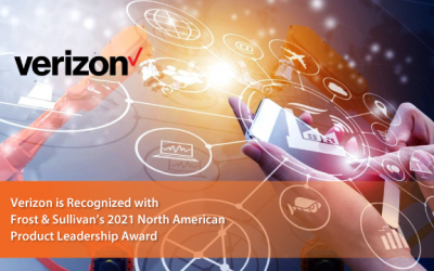 Verizon Business wins Frost & Sullivan 2021 North American Product Leadership Award for Contact Center Hub