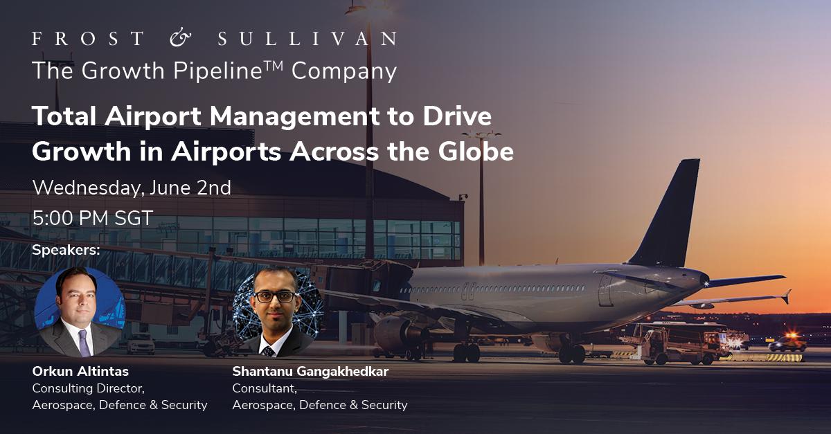 Frost & Sullivan webinar on total airport management