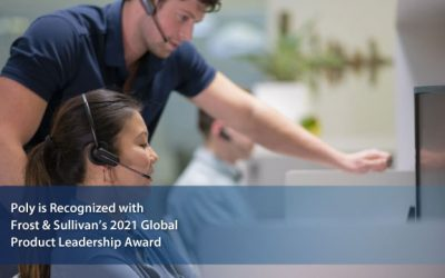 Poly Commended by Frost & Sullivan for Its Blackwire 8225 Corded UC Headsets Series