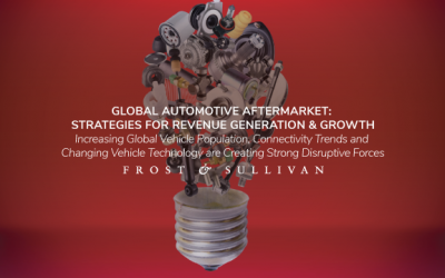 Frost & Sullivan Reveals How to Leverage Digitization of the Global Vehicle Aftermarket to Gain a Competitive Advantage