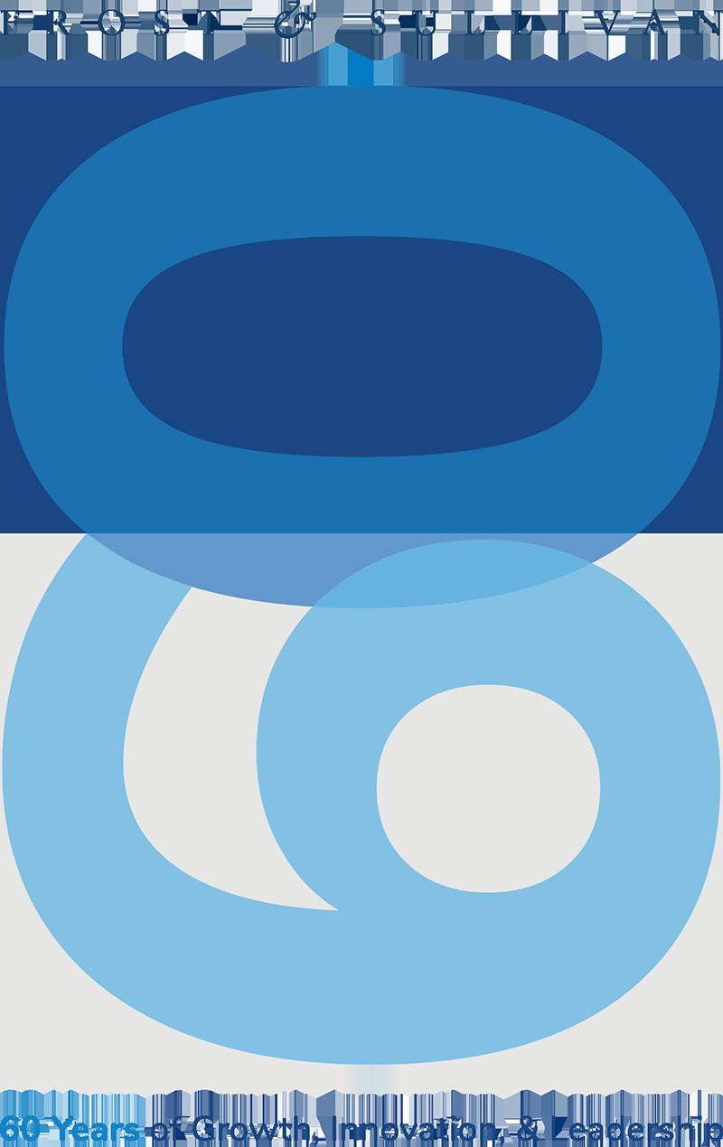Frost & Sullivan 60th logo